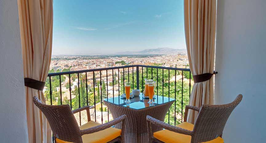 Habitación Doble Superior Con Terraza Hotel En Granada