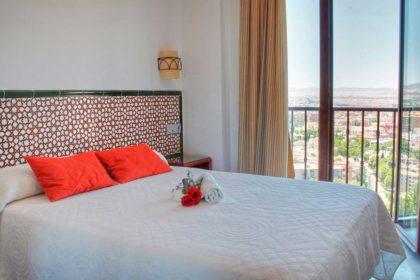 hotel romántico en Granada