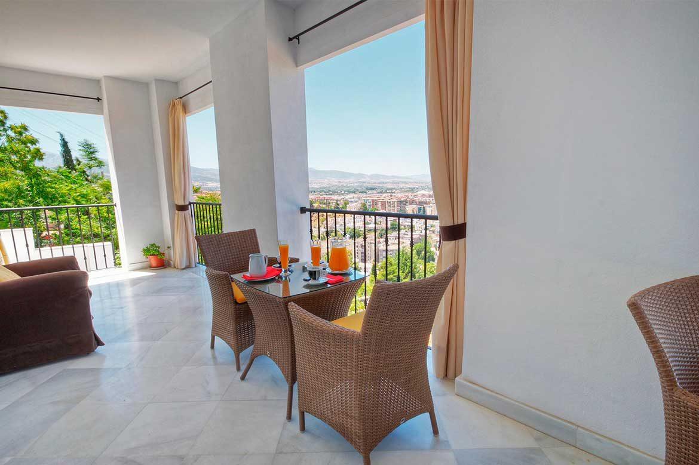 visitar hotel en Granada