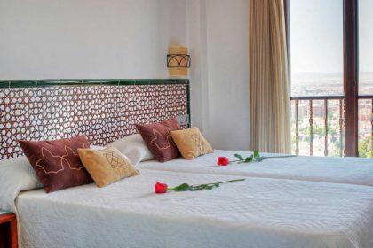 Hoteles para una escapada romántica en Granada