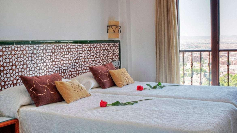 habitacion romantica en granada
